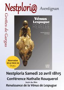 Conférence Vénus de Lespugue - Nathalie Rouquerol @ Nestploria \ grottes de Gargas